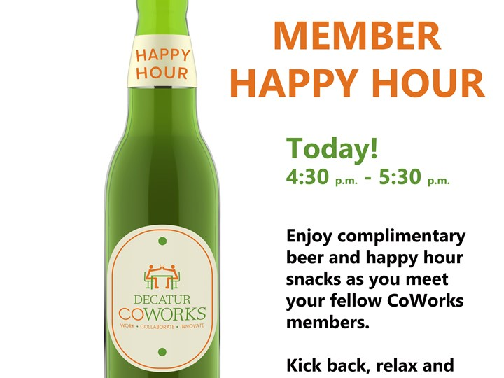 Member Happy Hour